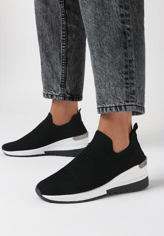Czarne Sneakersy Ibun
