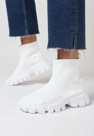 Białe Sneakersy Assuh