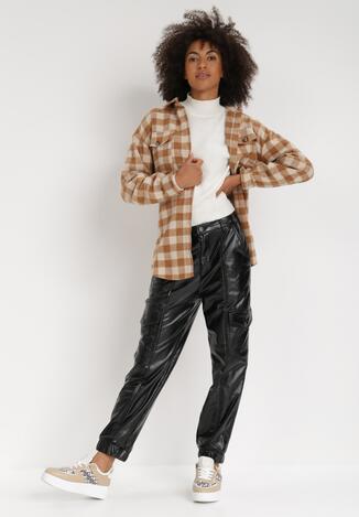 Czarne Spodnie Nephegina