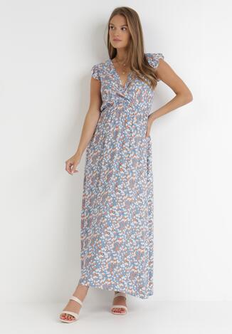 Jasnoniebieska Sukienka Harut