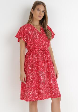 Czerwona Sukienka Kepherine