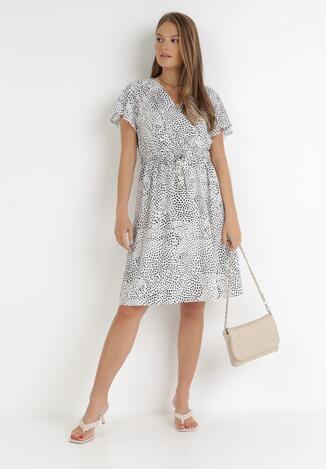 Biała Sukienka Kepherine