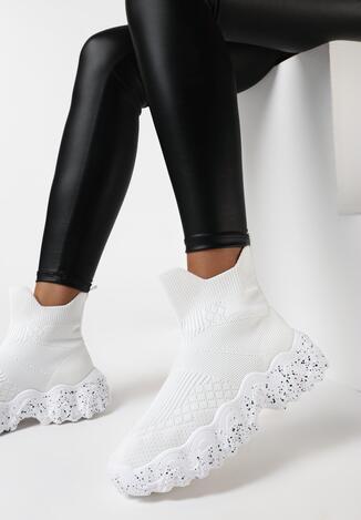 Białe Sneakersy Hiqinn