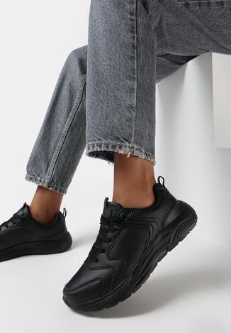 Czarne Buty Sportowe Eveus