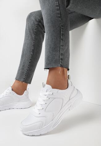 Białe Buty Sportowe Eveus