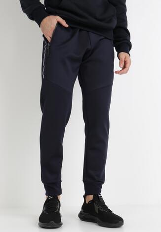 Granatowe Spodnie Callamia