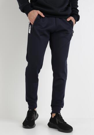 Granatowe Spodnie Argiope