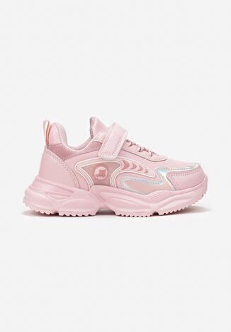 Różowe Buty Sportowe Corene