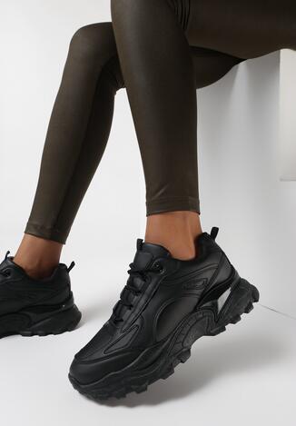 Czarne Sneakersy Todemon