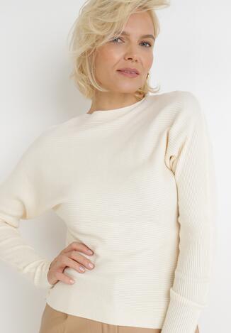 Kremowy Sweter Pronosa