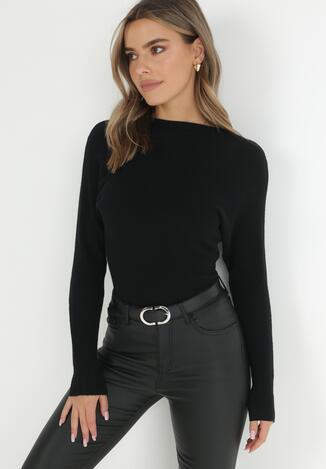 Czarny Sweter Pronosa