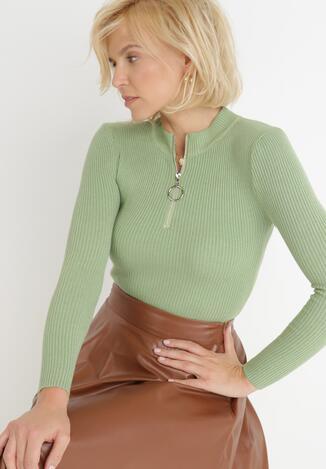 Zielony Sweter Achonis