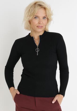 Czarny Sweter Achonis