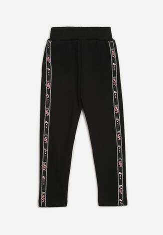 Czarne Spodnie Omphania