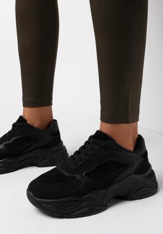 Czarne Sneakersy Chriserios
