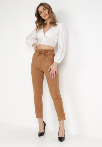 Camelowe Spodnie Regular Hemah