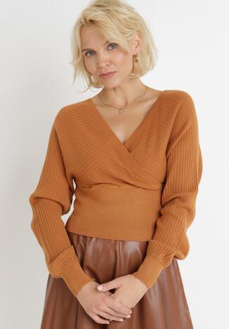Camelowy Sweter Ismea
