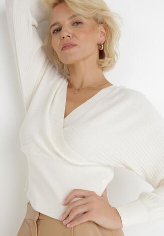 Biały Sweter Ismea