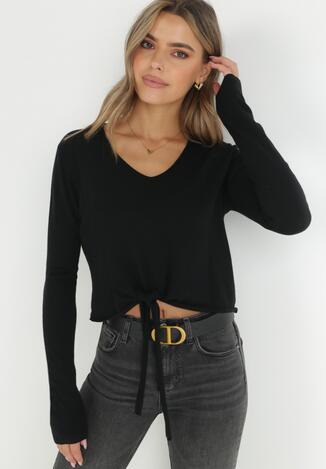 Czarny Sweter Anastala