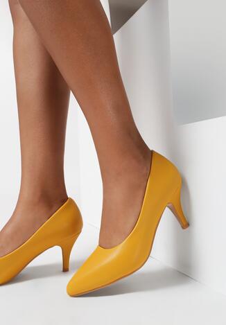 Żółte Czółenka Doramna