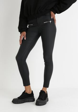 Czarne Spodnie Skinny Thalilla