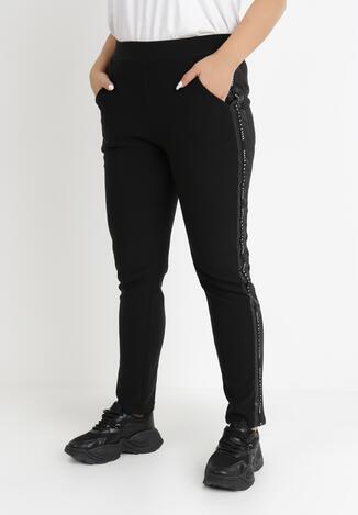 Czarne Spodnie Ismomene