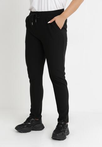 Czarne Spodnie Dresowe Metathe