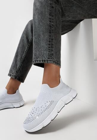 Białe Buty Sportowe Mayalody