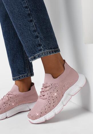 Różowe Buty Sportowe Zhawai
