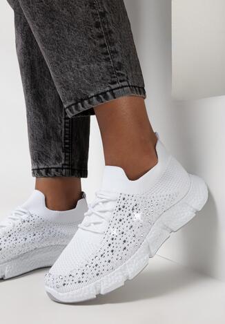 Białe Buty Sportowe Zhawai