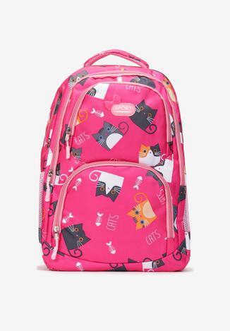 Różowy Plecak Metiolirea