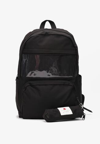 Czarny Plecak Kostebius