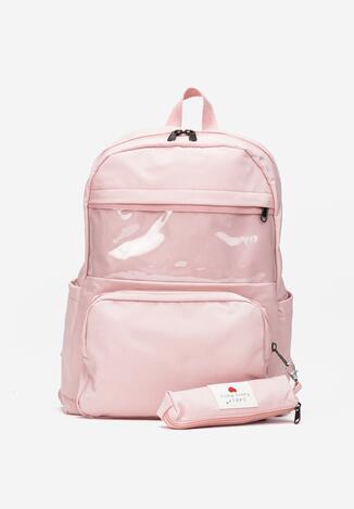 Różowy Plecak Kostebius