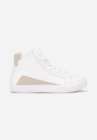 Beżowe Buty Sportowe Synagaie