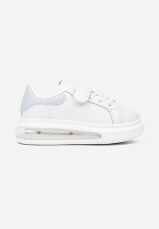 Biało-Niebieskie Buty Sportowe Nil