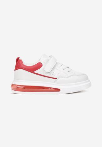 Biało-Czerwone Buty Sportowe Asimina