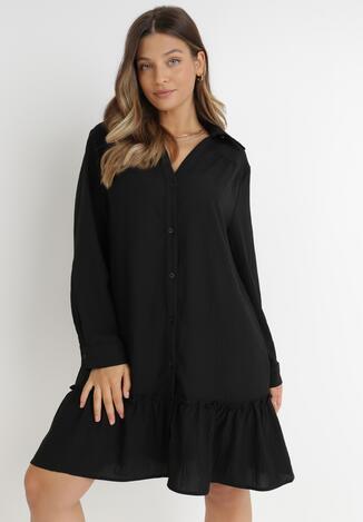 Czarna Sukienka Apios