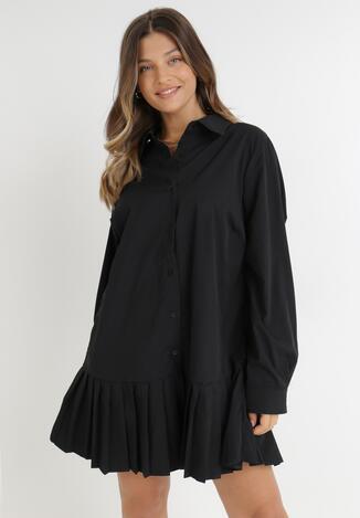 Czarna Sukienka Ancemus