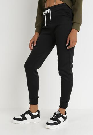 Czarne Spodnie Dresowe Desoya