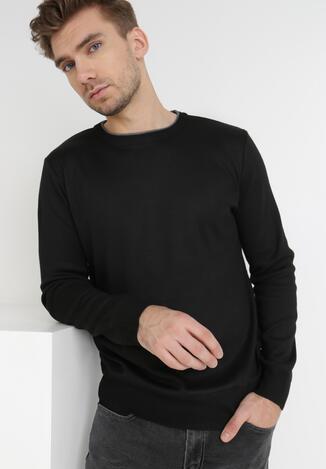 Czarny Sweter Z Wełną Appesilea