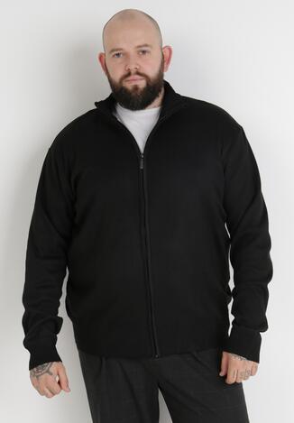 Czarny Sweter Z Wełną Asoania
