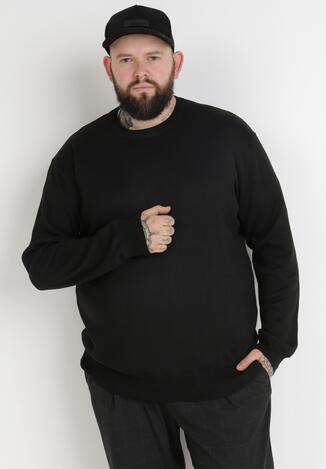 Czarny Sweter Z Wełną Orameia