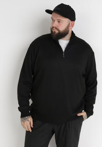 Czarny Sweter Z Wełną Avoah