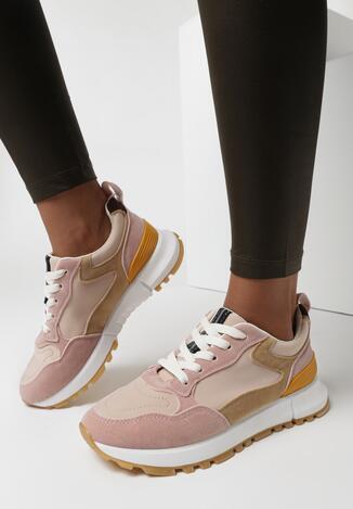 Różowe Buty Sportowe Chionania