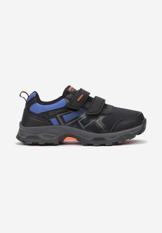 Czarno-Niebieskie Buty Sportowe Iphobe