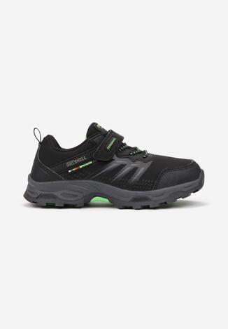 Czarno-Zielone Buty Sportowe Iphaleia