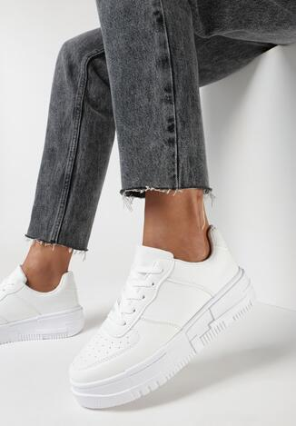 Białe Sneakersy Euphele