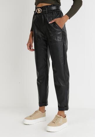 Czarne Spodnie Eunothoe