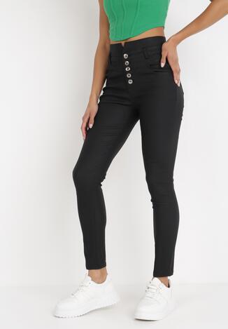 Czarne Spodnie Skinny Petreus