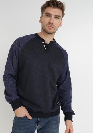 Granatowy Sweter Irala